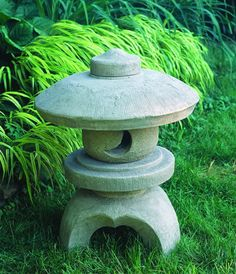 Morris Round Pagoda cast stone pagoda statue made by Campania International