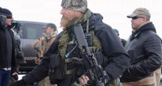 Bundy militia standoff escalates when another heavily-armed group arrives to provide 'security'