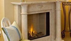 tamara marble fireplace