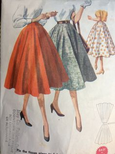 Vintage 1950's McCall's 3552 Pattern // Women's by ElkHugsVintage, $10.00