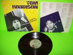 Tom Robinson – North By Northwest Vinyl LP Record 1982 New Wave IRS Promo Cover #1980sNewWavePopRock