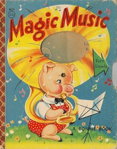 Magic Music - Bonnie Book