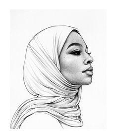 31 Best ideas for drawing sketches art artists Pencil Art Drawings, Art Drawings Sketches, Drawing Pics, Girl Drawings, Easy Drawings, Drawing Ideas, Inspiration Art, Art Inspo, Art Du Croquis