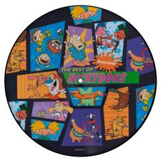 Nickelodeon The Best of Nicktoons - Vinyl LP Picture Disc