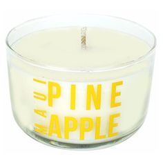 Maui Pineapple Candle Scents of Summer Collection design by Modern... ($15) ❤ liked on Polyvore featuring home, home decor, candles & candleholders, candles, citrus scented candles, pineapple candle, peach candles, pineapple scented candle and tropical home decor