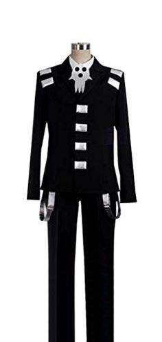 Dreamcosplay Anime Soul Eater Death the Kid Uniform Cosplay * Click on the image for additional details.