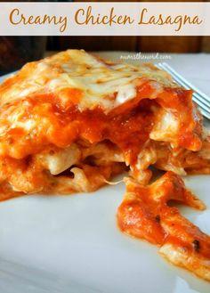 Creamy Chicken Lasagna Regular