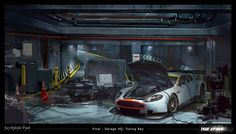 scribble pad: The Crew - Concept Art by Scribble Pad Studios