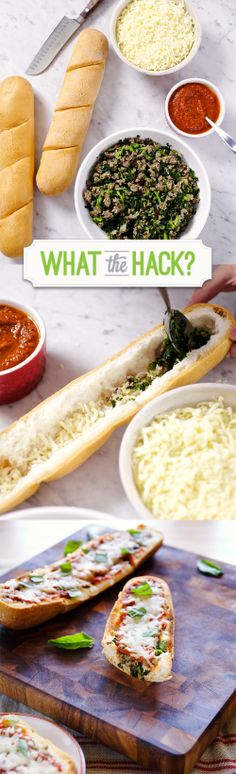 #GlutenFree Kale and Sausage Deep Dish Pizza Recipe made with a simple food hack from Udi's Gluten Free! #WhatTheHack