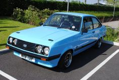 Classic Fords For Sale, Ford Classic Cars, Escort Mk1, Ford Escort, Ford Rs, Car Ford, Ice Cream Van, Mk 1, Germany And Italy