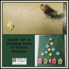 Use #Braille Art as a Stepping Stone to Tactile Graphics