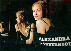 Alexandra Vandernoot habillée