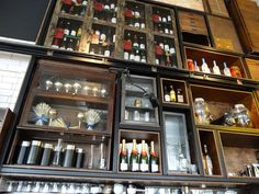 Bread Street Kitchen, London - By The Glass® Bread Street Kitchen, Gordon Ramsay, Liquor Cabinet, London, Glass, Towers, Rugby, Sisters, Interiors