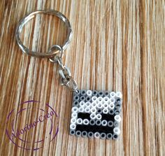 MInecraft keyring hama mini beads by Adorine-crea