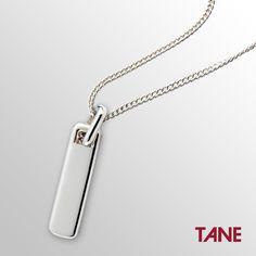 Dije Esclava Tule #TANE #ColecciónNovarro #Tule #hechoenMéxico #joyería #hombre #dije #plata925 http://www.tane.com.mx/dijes/