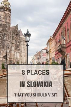 Here are 8 places you should visit in Slovakia (article in polish) Backpacking Europe, Europe Travel Tips, Places To Travel, Places To See, Travel Destinations, Travel Guides, European Destination, European Travel, Bratislava Slovakia