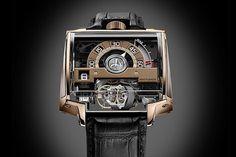 Hautlence's Vortex in Red Gold...... #watch #watches #watchporn #time #timepiece #horology #dailytime #dailywatch #instatime #instawatch #hautlence #sihh2016 #skeleton #tourbillon by avinpokardas