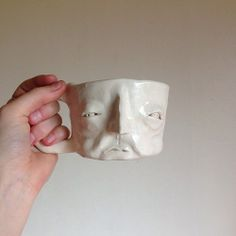 Awesome face cup!