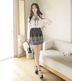 MyFiona - Patterned Mini Skirt