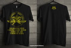 Nunusaku Tshirt by Mondeck Maluku www.mondeck.net