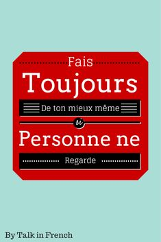 5 Motivational Quotes in French to Help You Study NOW!   Now you have two options. French with English Translation or Only in French.  I share with you some quotes to keep you motivated (not sure if it will work…)  http://www.talkinfrench.com/motivation-study-french/ Do not hesitate to share.