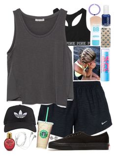 """""""You know, how it goes..."""" by lovemyariana ❤ liked on Polyvore featuring Victoria's Secret, NIKE, Zara, adidas, Vans, Tiffany & Co., Maybelline, Casetify, Samsung and Essie"""