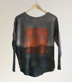 hand dyed hand painted ombre Hand Painted, Sweatshirts, Sweaters, Clothes, Fashion, Outfits, Moda, Clothing, Fashion Styles