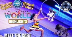 Check out this video of Ringling Bros. brand new show! Hear interviews and more! See what's in store: thrilling performances, exhilarating artistry and laugh-out-lout comedic antics. Share this post for more points! See you at the show!