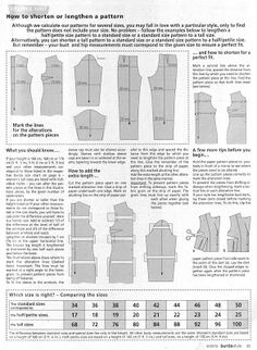 Sew Skate Read: Tall, Small, and Regular - Demystifying Burda Sizing
