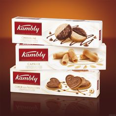 Kambly Biscuits. Coeur aux Noisettes. Possibly the nicest biscuits ever!