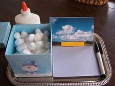 Cloud type creation station.