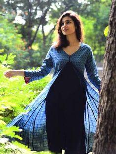 Dual Layer tunic Dabu Print from Gaatha