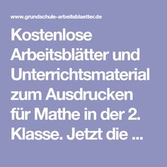 157 best Mathe 2. Klasse images on Pinterest in 2018 | Kids learning ...