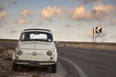 #Fiat500 between clouds