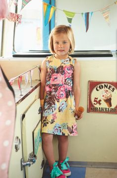 Love the satin tied pumps for Joules childrenswear summer 2012