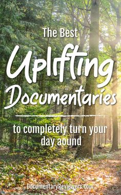 These uplifting documentaries are the answer to your woes! They'll inspire you, make you feel better and hopefully turn your day around. Best Documentaries On Netflix, Netflix Movies To Watch, Movie To Watch List, Good Movies To Watch, Movie List, Great Movies, Funny Movies, Comedy Movies, Stories Of Success