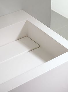 Integrated Corian basin and waste