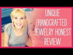 Unique Handcrafted Jewelry Review - http://videos.silverjewelry.be/bracelets/unique-handcrafted-jewelry-review/