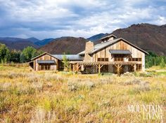 A 19th-century barn gets a fresh start as a family's vacation home in Sun Valley, Idaho
