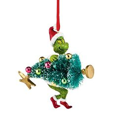 Department 56 Grinch Stealing Tree Ornament 375 ** Click image for more details. (This is an affiliate link)