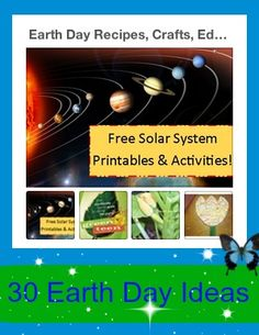 Earth Day Educational Ideas - come link up in our FUN Saturday Pinterest Party! Link up anything FUN!