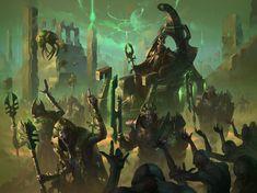 Warhammer Conquest, Angels Blood, Deathwatch, Necron, New Fantasy, Warhammer Fantasy, Warhammer 40000, Aquarium, Witch