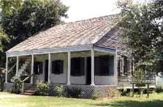 Everything you wanted to know about acadian houses, but were afraid to ask. Like, where do those stairs on the porch lead to? I always asked that when I was a little girl.