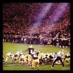 "Manti Te'o......awesome picture. Like the Irish?  Be sure to check out and ""LIKE"" my Facebook Page https://www.facebook.com/HereComestheIrish  Please be sure to upload and share any personal pictures of your Notre Dame experience with your fellow Irish fans!"