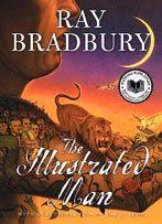 Ray Bradbury | The Illustrated Man.  I kind of love it - a lot of 'rocket ships'....
