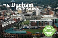 Congrats Durham, North Carolina! Ranked #4 on Livability.com's Top 100 Best Places to Live