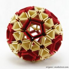 Modular Origami Ball 1 By Origamimodulowedeviantart On DeviantART