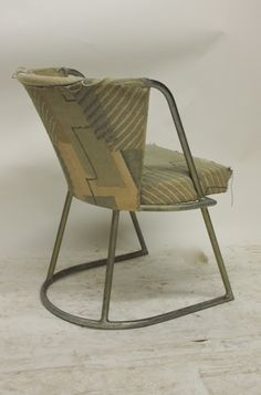 Pair of Chairs in Original Condition Documented Louis Sognot 1927 France at 1stdibs