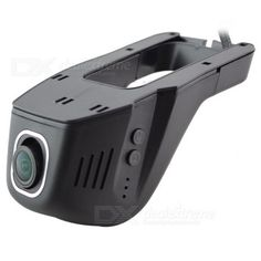 Universal Hidden 96658 IMX 322 Wide-Angle 1080P Wi-Fi Car DVR Video Recorder Camera - Black