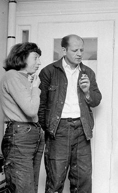 Jackson Pollock and Lee Krasner, Springs, New York, 1949. Photo by Martha Holmes—Time & Life Pictures. Jackson and his wife Lee lived in near poverty for years, relying on financial support from friends such as artist Alfonso Ossorio. Ossorio, a wealthy Surrealist painter, was the only person to buy a painting from Pollock's 1950 show at Betty Parsons. The painting, later to be known as Lavender Mist, was sold by Ossorio in 1976 for $2 million. (L
